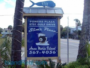 Slim's Place in Anna Maria City