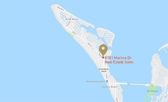Holmes Beach Florida Map.Anna Maria Island Map Anna Maria Fl Rentals Real Estate