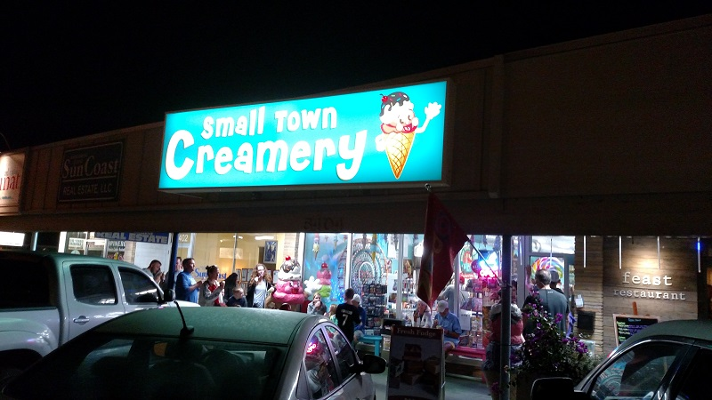 Satisfy Your Sweet Tooth with Small Town Creamery in Holmes Beach